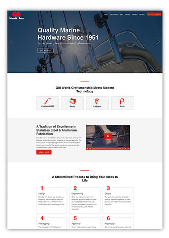 Website CMS for Manufacturing Companies