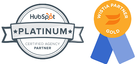 HubSpot Gold Partner Wistia Gold Partner