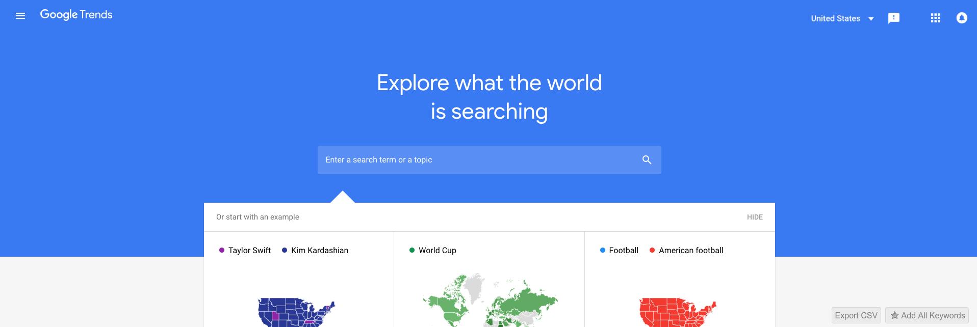 Google Trends - SEO