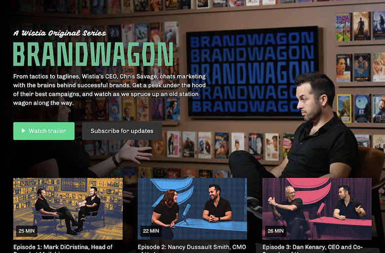 Brandwagon - Brand Affinity Marketing with Video