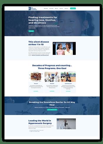 EARRF - new site