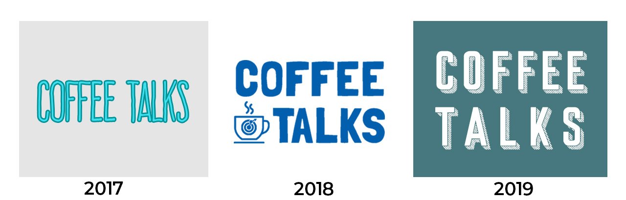 Coffee talks brand updates over time