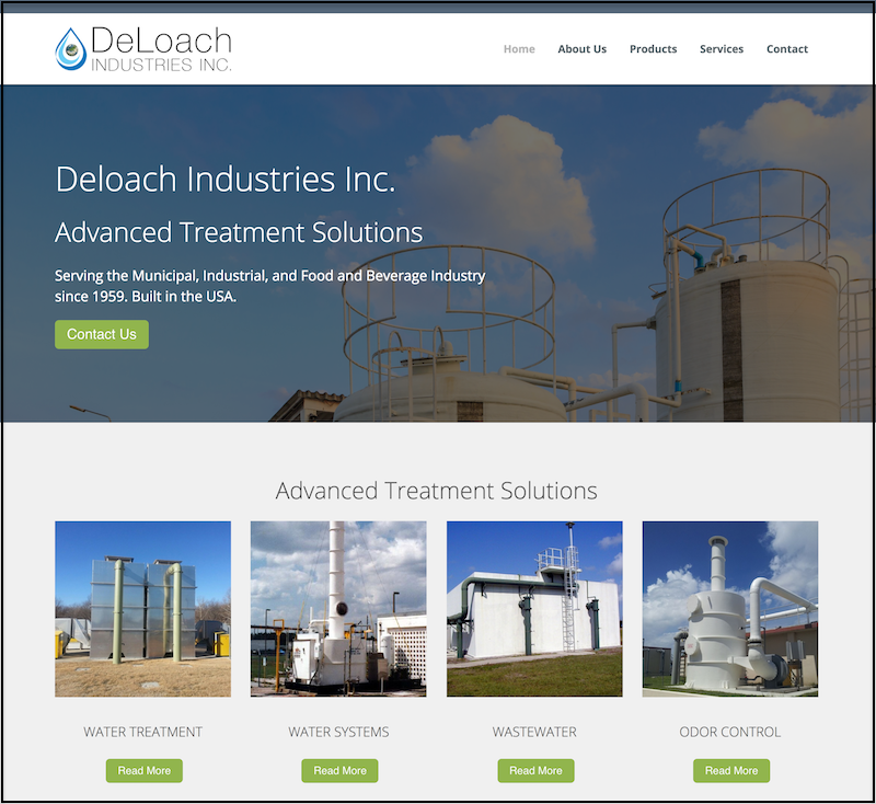 Deloach Industries Water Treatment Florida