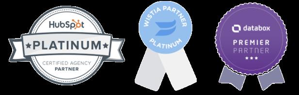 HubSpot and Wistia Platinum Partners Databox Premier Partner