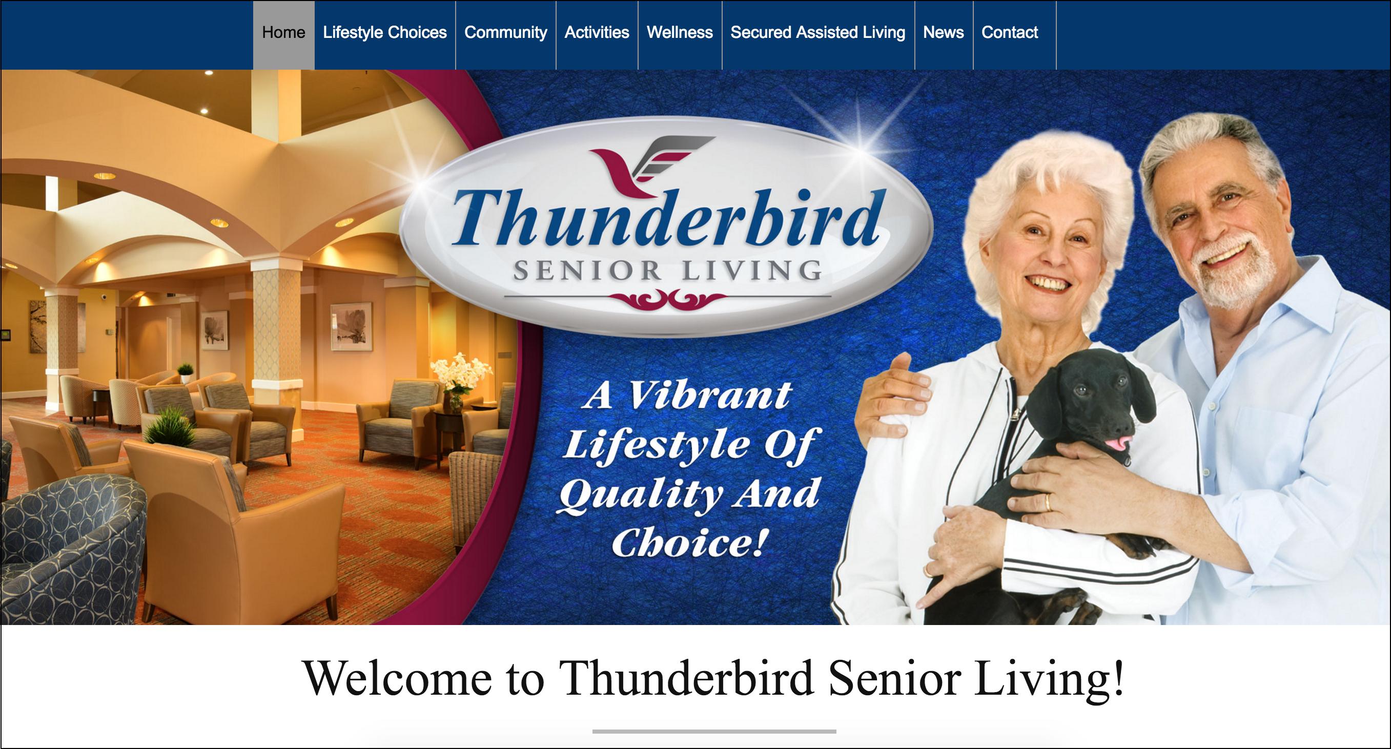 thunderbird senior living