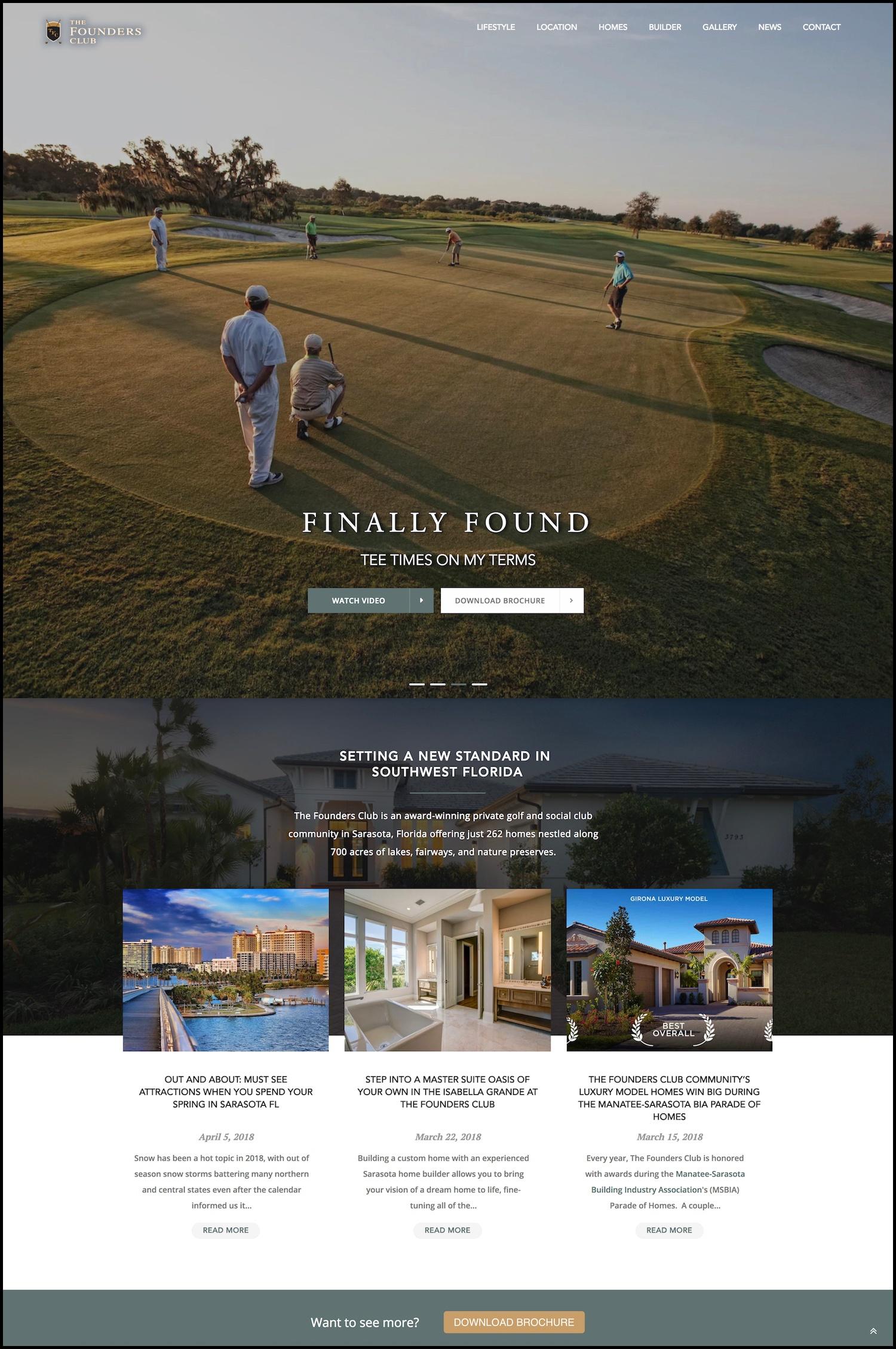 The Founders Club Sarasota Florida