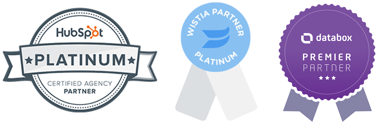 HubSpot and Wistia Platinum Partners Databox Premier Partner