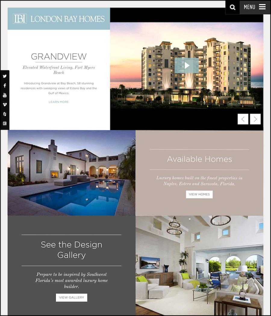 London Bay Homes - Naples, FL Developer